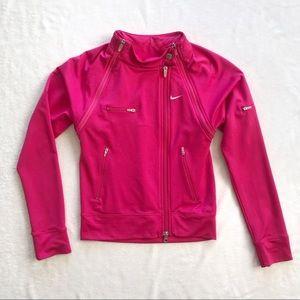 Nike Dri-Fit Hot Pink Convertible Jacket/Vest